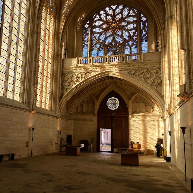 La saint-chapelle du château de Vincennes / © Steve Stillman pour Enlarge your Paris