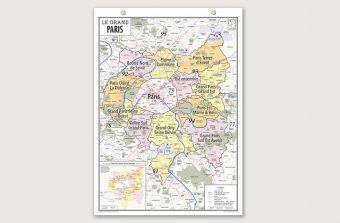 Partagez vos idées sur le Grand Paris sur une carte participative jusqu'en mars