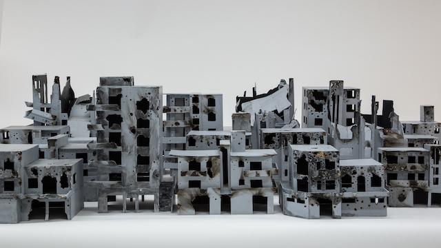Oeuvre de Bissane Al Charif à la Maison des Arts de Malakoff / © Maison des Arts de Malakoff
