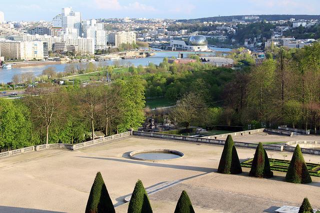 Vue sur Boulogne depuis le parc de Saint-Cloud / © Fred Romero (Creative commons - Flickr)