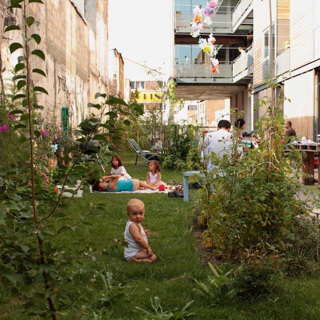 Le projet d'habitat participatif Diwan à Montreuil / © Anne-Laure Engelhard