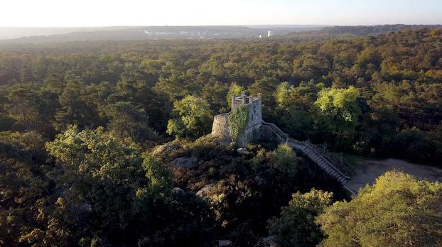 La tour Denecourt / © Fontainebleau Tourisme - Chlorofilm