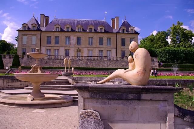Le château d'Auvers-sur-Oise / ©  Philippe L PhotoGraphy (Creative commons - Flickr)