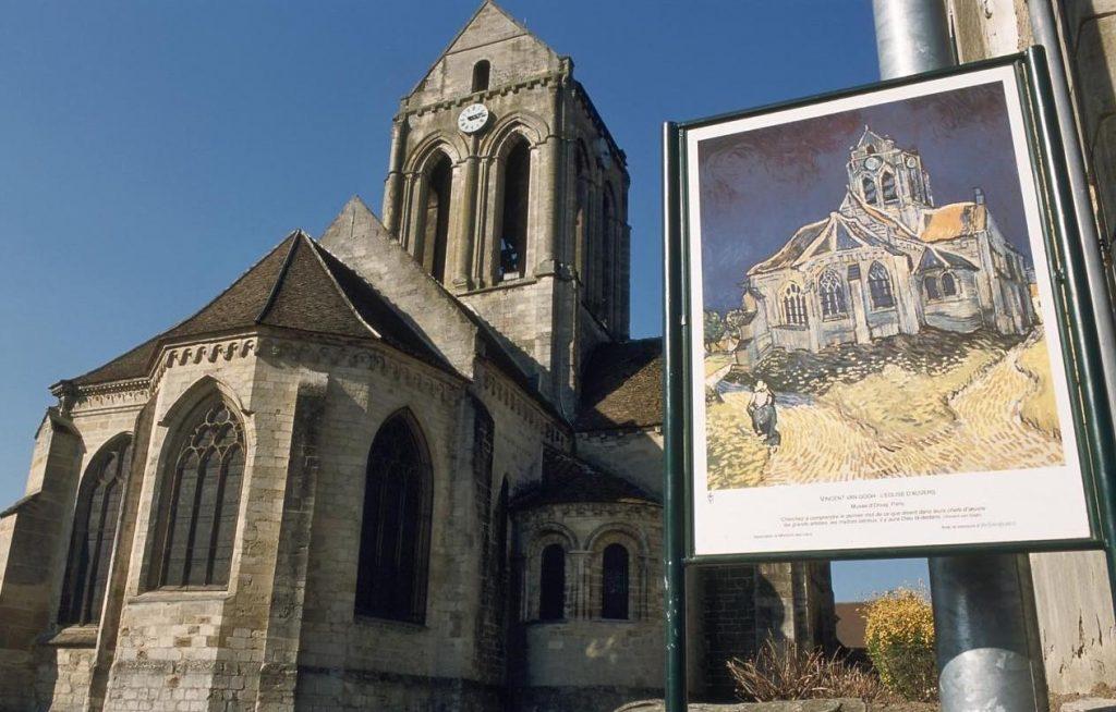 L'église d'Auvers-sur-Oise /  © CRT Île-de-France