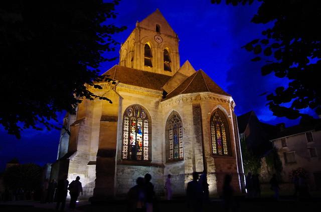 L'église d'Auvers-sur-Oise, qui a inspiré l'un des chefs-d'oeuvre de Van Gogh / © R_a_p_h_a_e_l (Creative commons - Flickr)