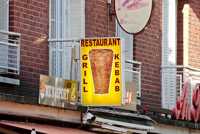 Enseigne d'un kebab / © Frédéric Bisson (Creative commons - Flickr)
