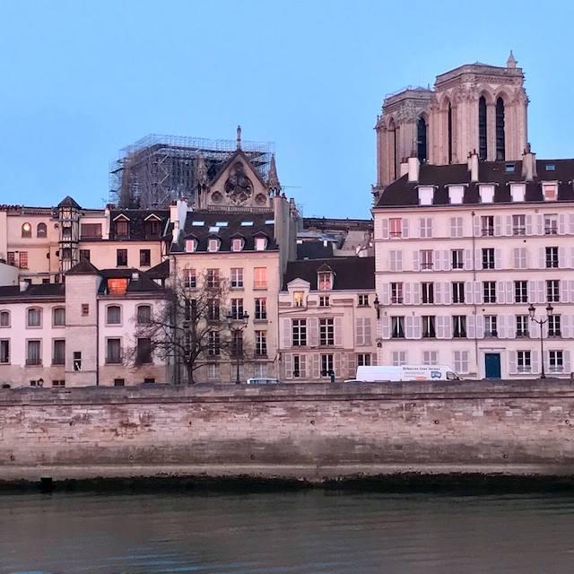 Notre-Dame de Paris après l'incendie du 15 avril 2019 / © Vianney Delourme