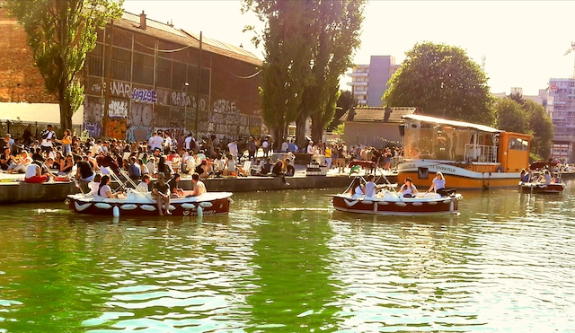 Le canal de l'Ourcq à Pantin / © Louis-Pierre Samain