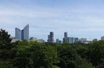 Le parc André Malraux, petit cousin de Central Park à Nanterre