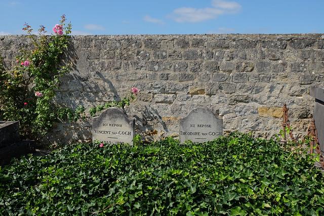 Les tombes de Vincent et Théo Van Gogh à Auvers-sur-Oise / © Julien Chatelain