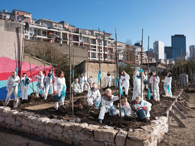 La pépinière Vive les Groues ! à Nanterre / © Thierry Boutonnier