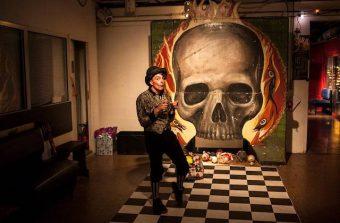 Pénétrez dans un mystérieux repère d'artistes à Vitry