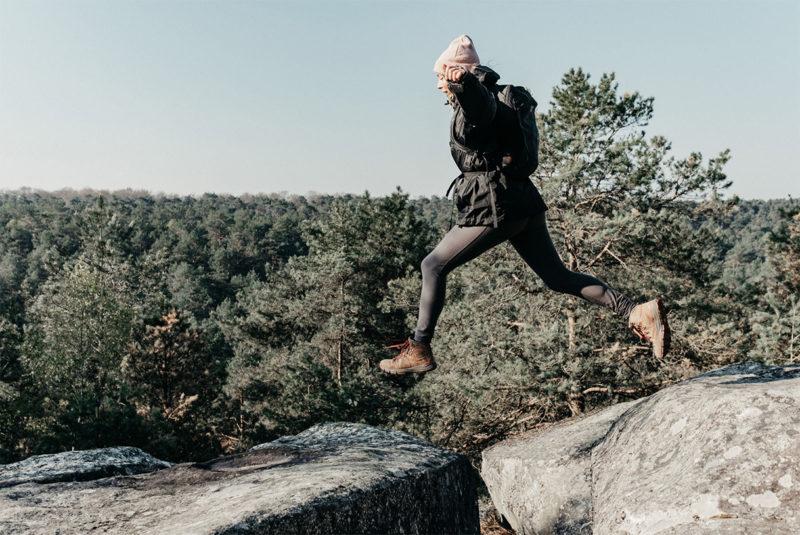 La Trans'Bleausarde en forêt de Fontainebleau / © Warren Lecart