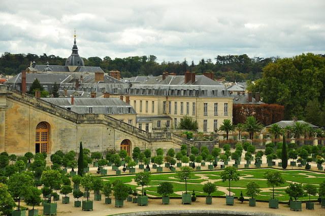 Les jardins de l'orangerie du château de Versailles / © Kimberlykv (Creative commons - Flickr)