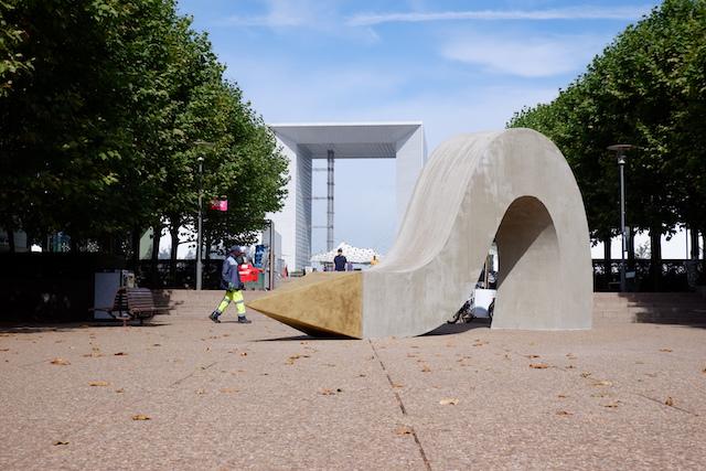Les Extatiques à La Défense / © Solenn Cordroc'h pour Enlarge your Paris