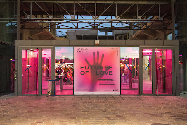 "L'exposition ""Futures of Love"" aux Magasins généraux à Pantin / © Les Magasins généraux"