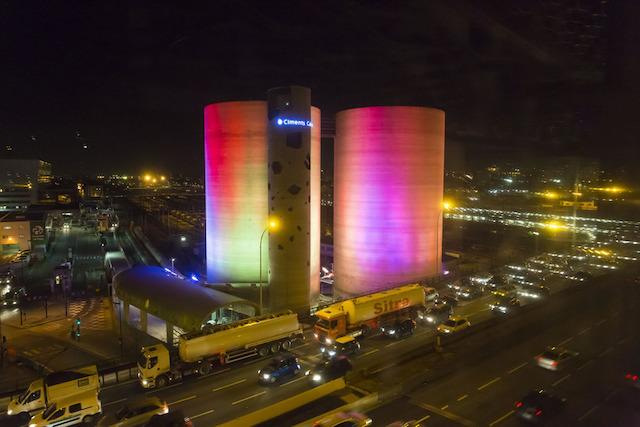 Solar Wind entre la Porte de Bercy et la Porte d'Ivry à Paris / DR