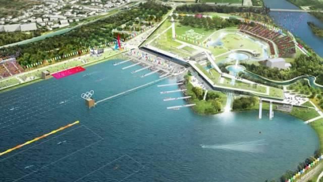 Le stade nautique olympique de Vaires-Torcy / © Paris 2024
