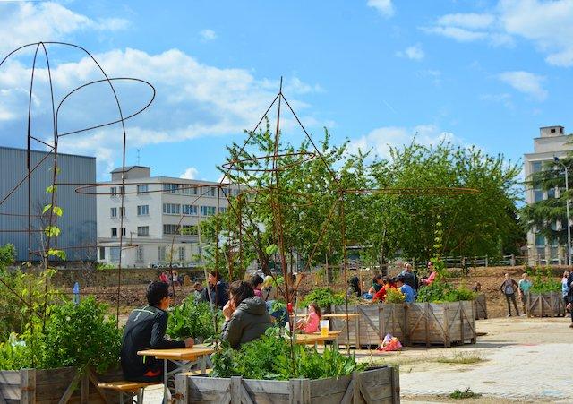 La friche Vive les Groues ! à Nanterre / © Vive les Groues !