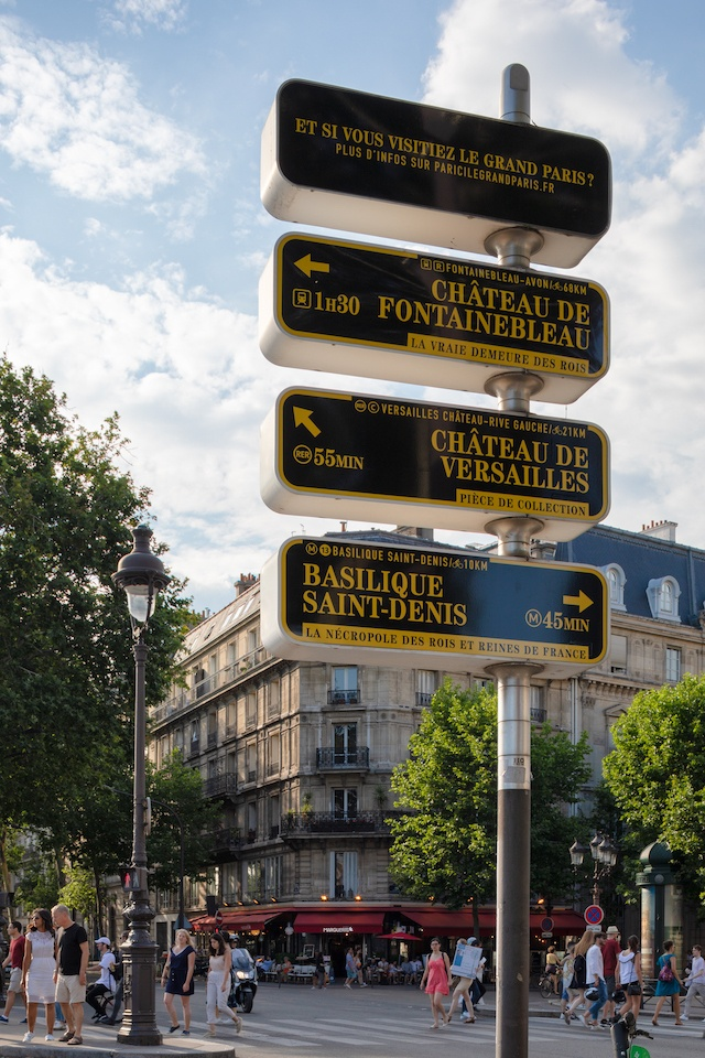 Signalétique métropolitaine / © Pierre L'Excellent