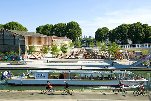 Le festival L'Eté du canal se déroulera jusqu'au 20 septembre entre Paris et la Seine-Saint-Denis / © Xavier Testelin