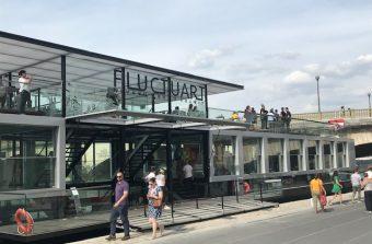 Fluctuart, une galerie flottante dédiée au street art sur la Seine