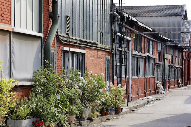 Les ateliers de l'ancienne usine Christofle à Saint-Denis / © Soukamchines