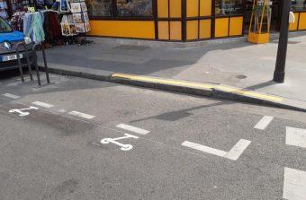 Des parkings pour trottinettes font leur apparition à Paris