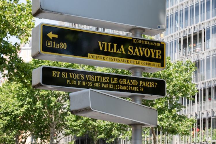 La nouvelle signalétique grand-parisienne installée dans Paris / © Pierre L'Excellent