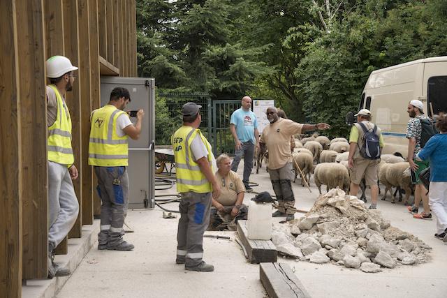 Sur le chantier de la Ligne 15 sud du Grand Paris Express à Cachan /  © Jérômine Derigny