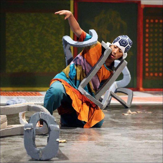 Le danseur Ismaera Takeo Ishii / © Le Générateur