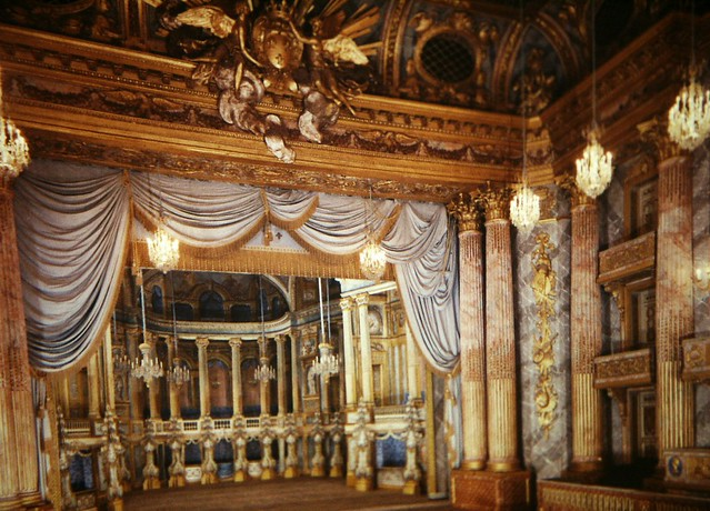 L'opéra royal du chpateau de Versailles / @ Gary Todd (Creative commons - Flickr)