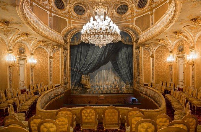 Le théâtre impérial du château de Fontainebleau / @ Château de Fontainebleau