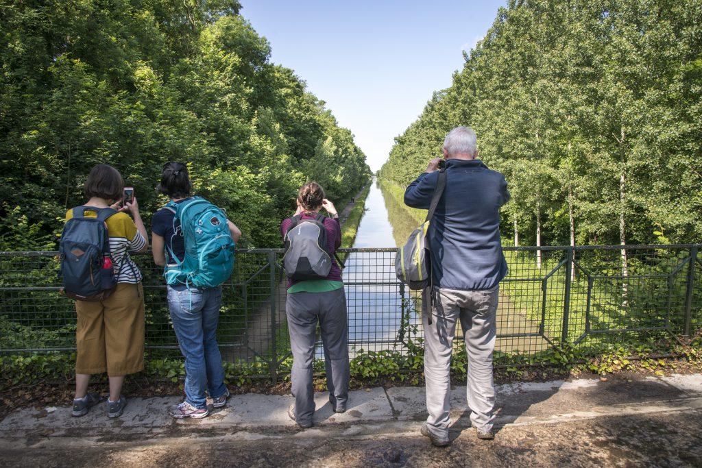 Le canal de l'Ourcq au niveau du parc forestier de la Poudrerie à Sevran / © Jérômine Derigny pour Enlarge your Paris