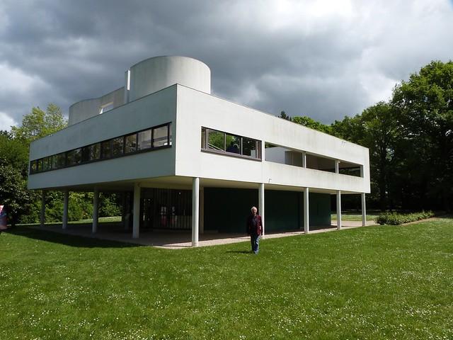 La Villa Savoye à Poissy, oeuvre de Le Corbusier au menu de la balade du 22 septembre / © Sylke Ibach (Creative commons - Flickr)
