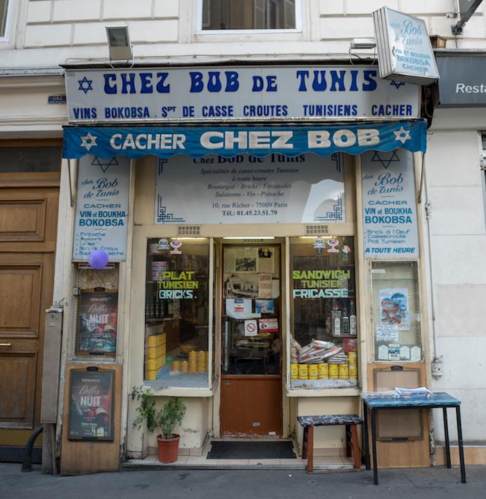 Bob de Tunis dans le 9e / © Parisianavores