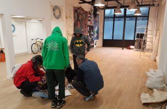 Des bureaux vides réquisitionnés à Saint-Ouen par un centre culturel et social autogéré