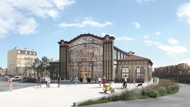 Le projet de réhabilitation de la gare Lisch entre Asnières et Colombes / © Gare Lisch Renaissance