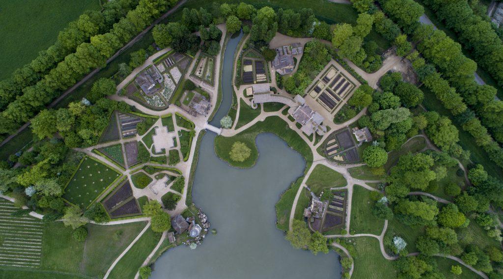 Le hameau de la Reine dans le parc du château de Versailles / © Thomas Garnier