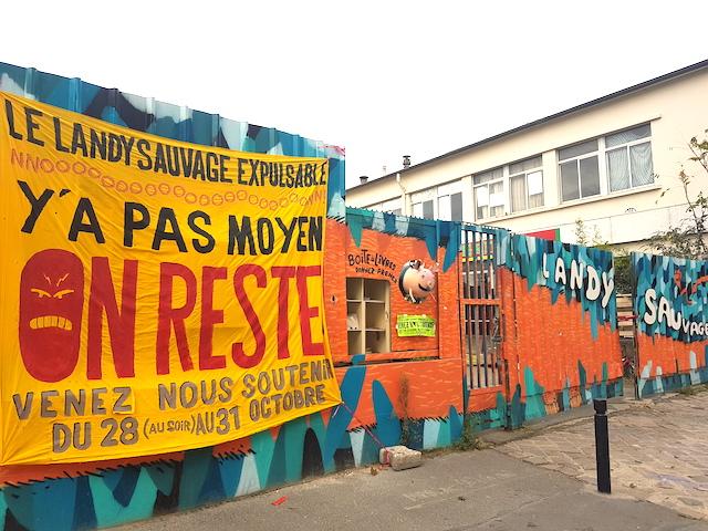 La friche du Landy sauvage à Saint-Denis / © Mona Prudhomme pour Enlarge your Paris