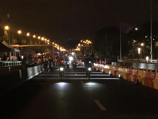 Nuit Blanche sur le périphérique / © Olivier Razemon