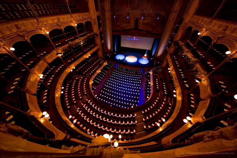Le théâtre du Châtelet /  © TEDx Paris