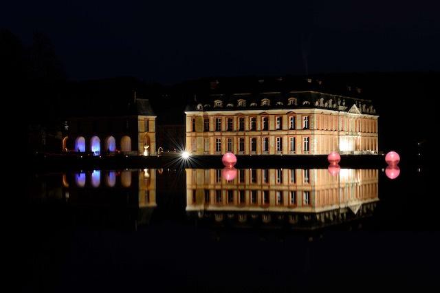 Les illuminations au château de Dampierre dans les Yvelines / © Château de Dampierre