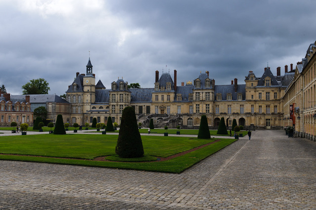 Le château de Fontainebleau / © Hervé Flickr - Creative commons)
