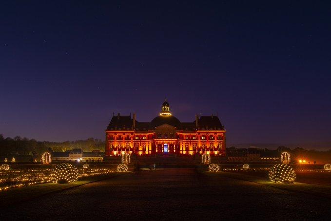 Les illuminations de Noël du château de Vaux-le-Vicomte / © Vaux-le-Vicomte