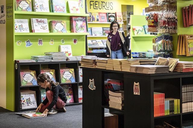 Le salon du livre jeunesse de Montreuil / © SLPJ
