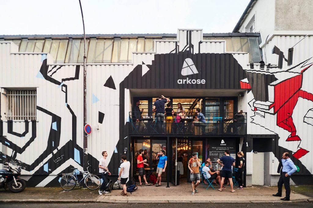 La salle d'escalade Arkose à Montreuil / © Arkose