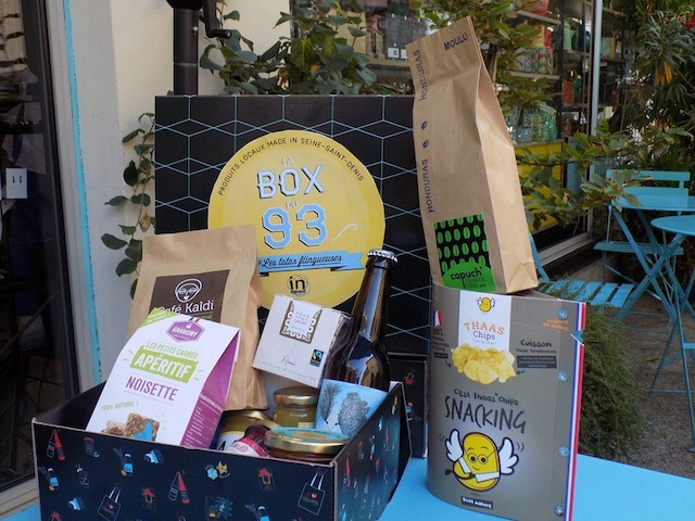 La Box du 93 créée par les Tatas Flingueuses / © Les Tatas Flingueuses