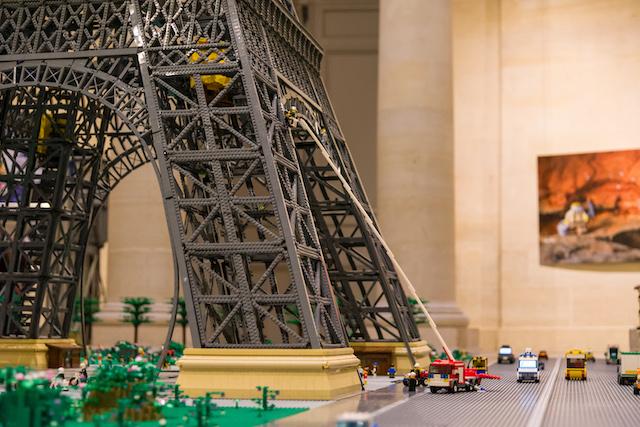 """Expo Lego """"Ciné en Briques"""" à l'Espace Richaud à Versailles / © Ville de Versailles"""