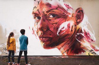 Hopare, street artiste globe-trotter en escale à Paris